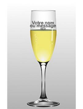 Flûte à Champagne Gravée - Personnalisé | Beau Cadeaux